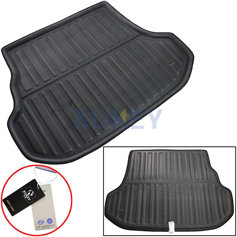 Car Trunk Liner Carpet Cargo Mat Tray Car Boot Mat For Toyota Corolla 2004-2008