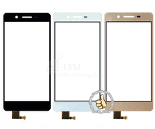 Черный Белый Передняя Стеклянная Линза + Сенсорный Экран Digitizer Для Huawei Enjoy 5S TAG-AL00 Замена для Мобильного Телефона ЖК-Экран случае