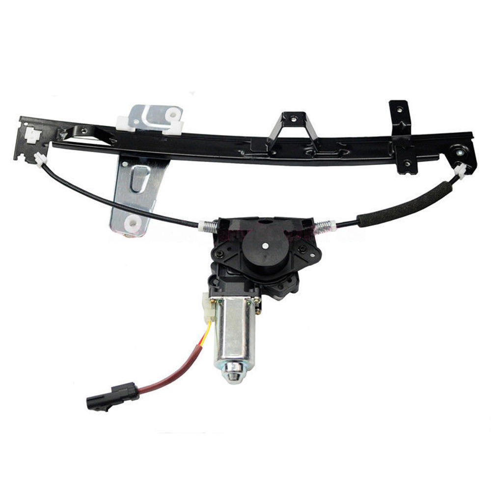 e2c front driver side window regulator with motor for 00 04 jeep grand cherokee oe 2552 6326l 55363287aa 55363287ab 741 556 [ 1000 x 1000 Pixel ]