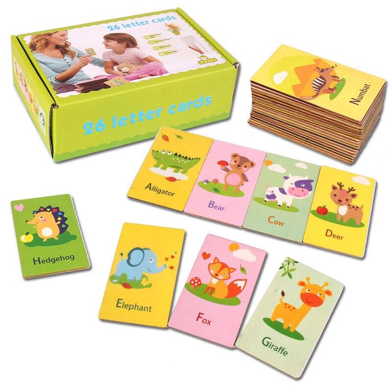 Letter Cards 26pcs