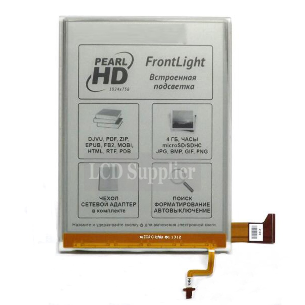 Écran lcd Ebook 6