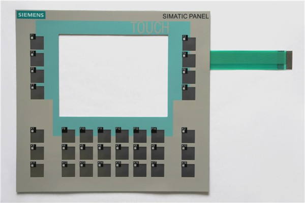 Membrane switch for 6AG1642-0DA01-4AX1 SIPLUS  SlMATIC HMI OP177B KEYPAD, Membrane switch , simatic HMI keypad , IN STOCK 6av3607 5ca00 0ad0 for simatic hmi op7 keypad 6av3607 5ca00 0ad0 membrane switch simatic hmi keypad in stock