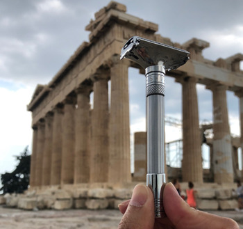 Безопасная бритва Qshave Parthenon V2.0 3