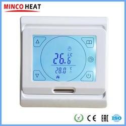 Теплый пол отопление сенсорный экран термостат еженедельный программируемый цифровой термостат регулятор температуры ( 1 шт. )