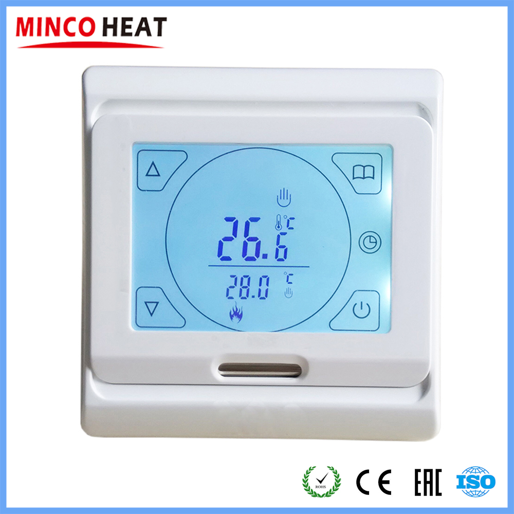 Touch Digital LCD Temperature Controller Cooling Heating Switch W// Sensor