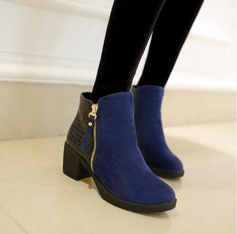 Aliexpress.com : Buy women boots 2016 fashion autumn ankle boots ...