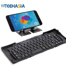 Wireless Bluetooth 3.0 Foldable Keyboard Universal for iPhone 6 7/iPad Pro/MacBook Mobile Phone Tablet PC