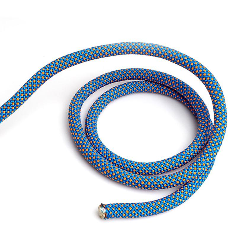10m 16mm 45KN 4500KG corde d'escalade sécurité sauvetage corde auxiliaire + 2x mousquetons haute qualité Polyester matériel