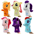 Hot 1pcs 27cm Anime Hand Puppets For Kids Cute My Little lovely horse Hand Puppets high quality Early Childhood Education Toy