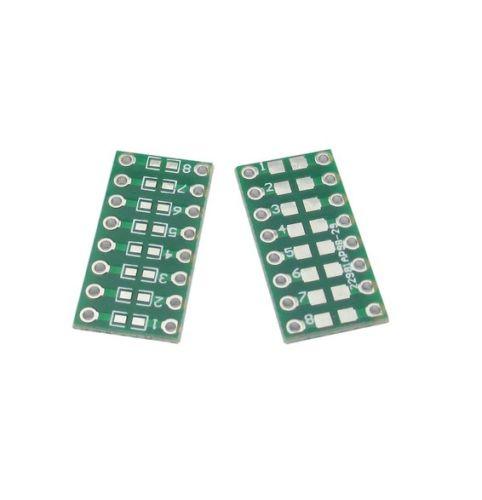 10 pces smd/smt componentes 0805 0603 0402 para dip adaptador pcb placa conversor