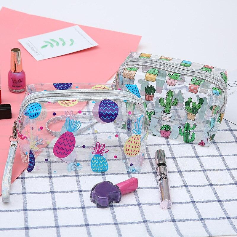 Cactus Cartoon Cosmetics, Makeup Organizer 1