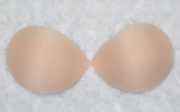 PRAYGER 60pcs/lot Removable Swimsuit Inserts New Women Bikini Bra Pads Push Up Breast Enhancers Bra Cups