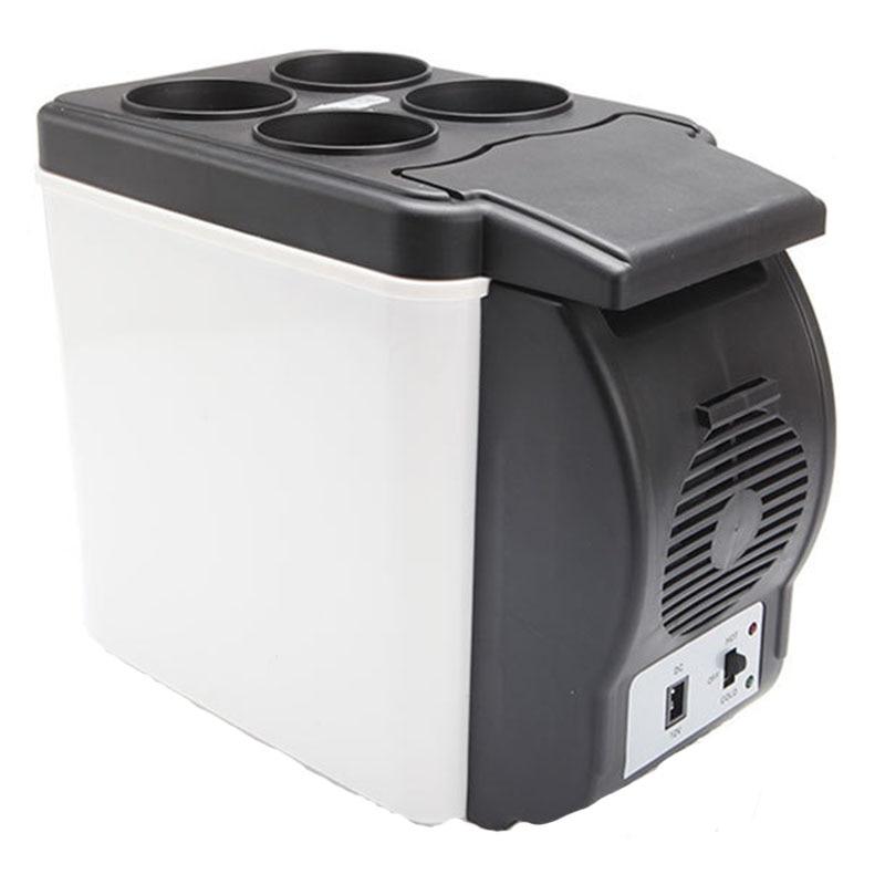 Mini Auto Car Refrigerator 6L 12V Travel Fridge Portable Freezer Automotive or Home Heating Multi-Function Car Refrigerator