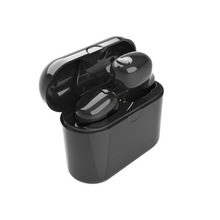 Two ear Wireless Bluetooth earphonesI8 Stereo Binaural  Earbuds  Earphone Built-in Microphone withChargeable Mini BoxTWSI8