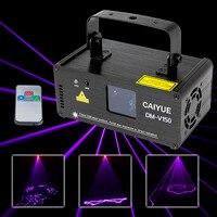 Fernbedienung DMX 512 Violetten Laser Bühnenbeleuchtung Scanner DJ Projektor Party Zeigen Lichteffekt Projektor beleuchtung Fantastische Disco
