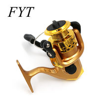 Fish Tools Fishing Reals Aluminum Body Spinning Reel High Speed G-Ratio 5.2:1 Fishing Reels(China)
