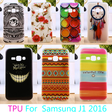 TAOYUNXI Soft TPU fundas de plástico para Samsung Galaxy J1 2016 J120F  Galaxy Express 3 J120A 63fd9b127366