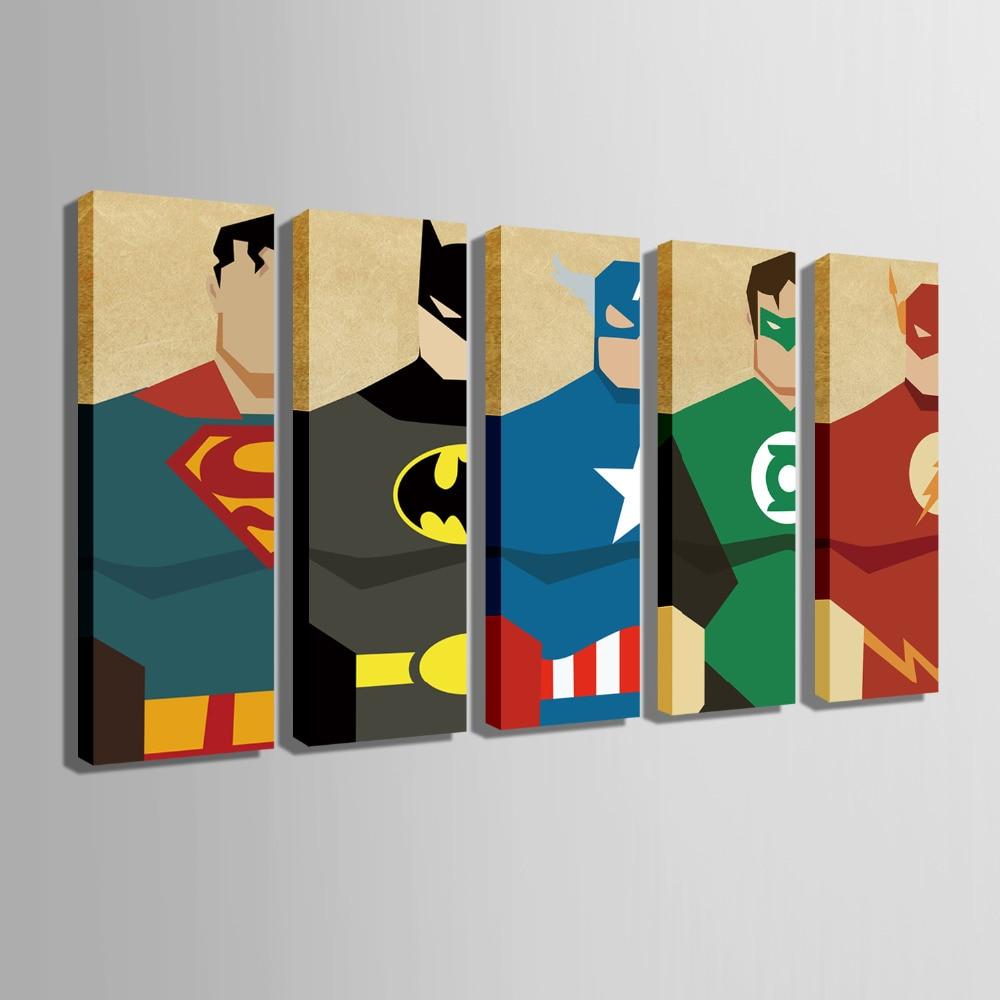 Superhero Wall Art   www.pixshark.com - Images Galleries ...