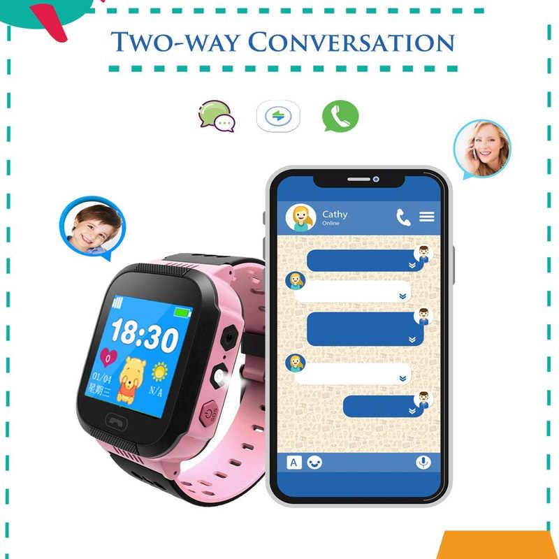 2019 Mới Q528 Đồng Hồ Thông Minh GPS với Camera Đèn Pin Đồng Hồ Cho Bé Cuộc Gọi SOS Vị Trí Thiết Bị Theo Dõi cho Bé An Toàn PK q90 Q60 Q50