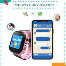 2019 New Q528 GPS Smart Watch with Camera Flashlight Baby Watch SOS Call Location Device Tracker for Kid Safe PK Q90 Q60 Q50(China)