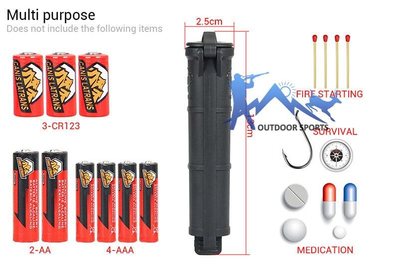 Taktis Hitam TAN Warna Hijau Penyimpanan Baterai Menggantung sabuk - Penembakan - Foto 2