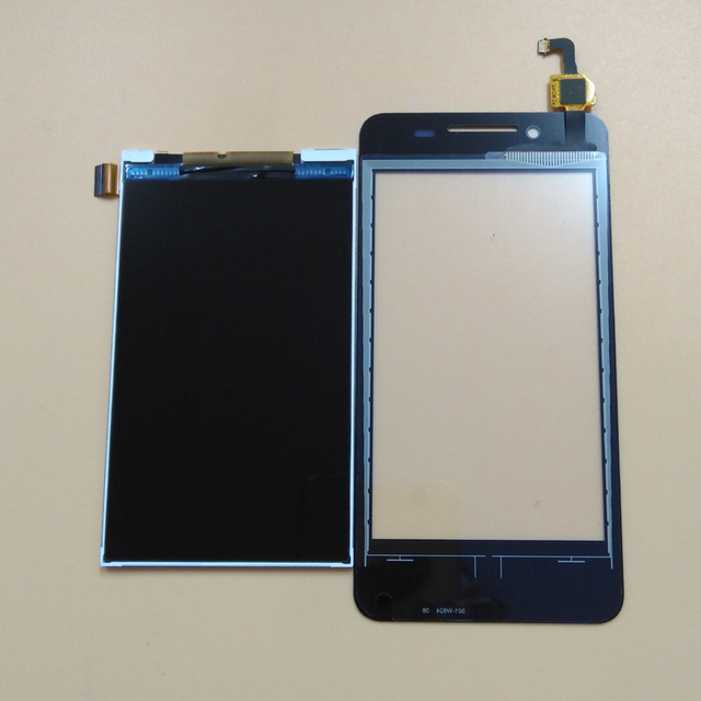 For Lenovo A319 Black White Touch Screen Digitizer Panel Glass LCD Display Monitor