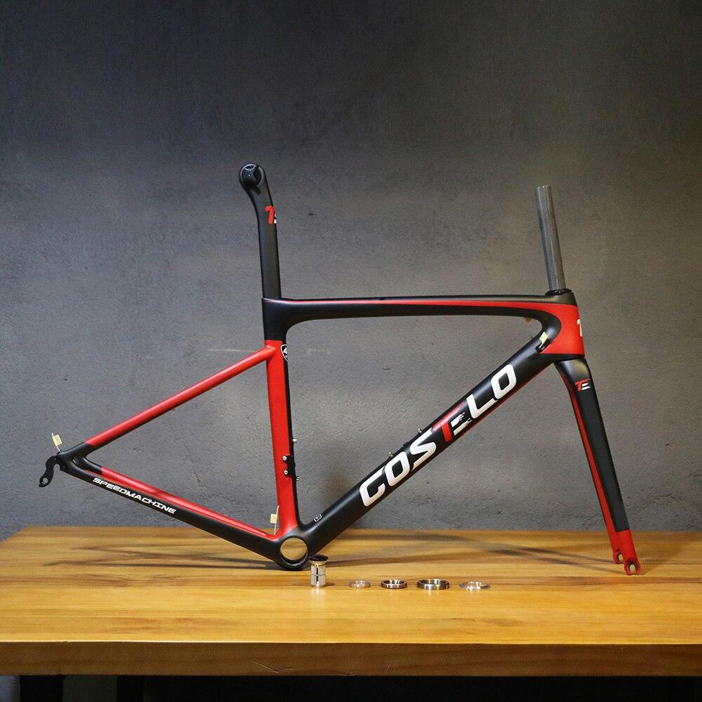 2018 Costelo Speedmachine 3.0 ultra light 790g bicicleta de estrada de carbono quadro Costelo bicicleta quadro da bicicleta quadro de fibra de carbono barato
