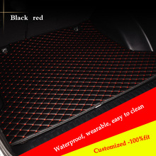 Customized car trunk mat for peugeot 307 206 308 407 207 406 408 301 3008 Cargo Liner accessories