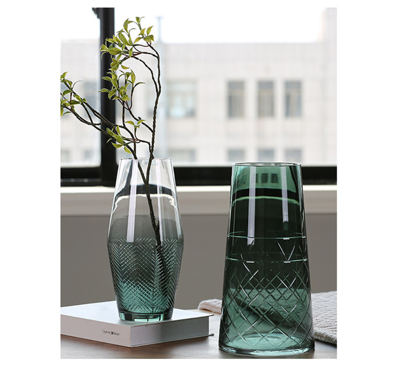 flower vase glass vase european flower vase plant pot07