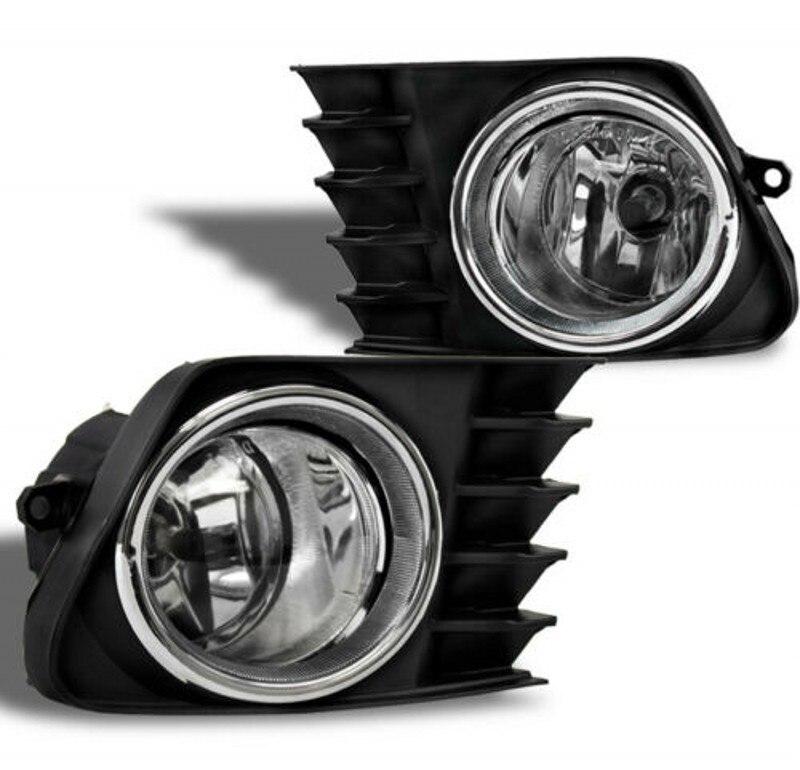 JanDeNing pour pare-chocs avant lampe anti brouillard halogène + câblage + Kit interrupteur pour Prius V 2012-2014