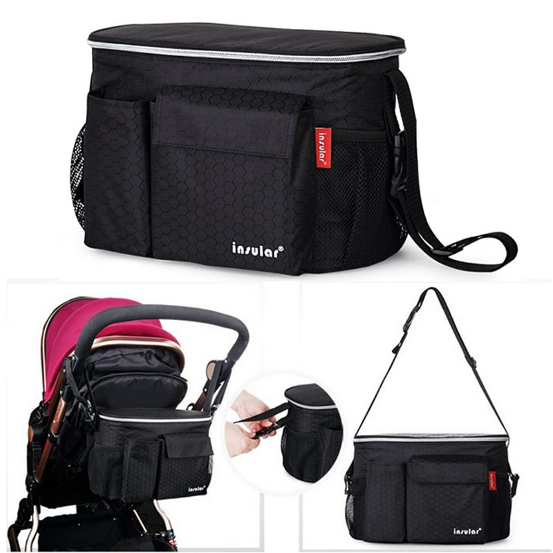 Thermal Insulation Diaper Bag For Strollers  Waterproof Maternity Baby Nappy Care Bags Mommy Stroller Bags