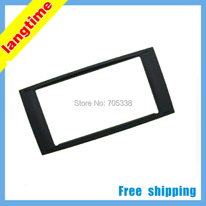 Free shipping-car refitting dvd frame/dvd panel/audio frame for Volkswagen Touareg, 2DIN