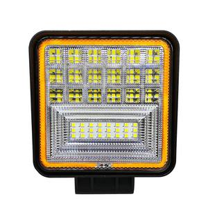 Image 2 - 126W Đèn Led Làm Đèn Vuông Đôi Màu Tự Động Làm Việc Đèn Offroad ATV Xe Tải Đầu Kéo Ô Tô IP68 Lớp Chống Thấm Nước và Chống Bụi