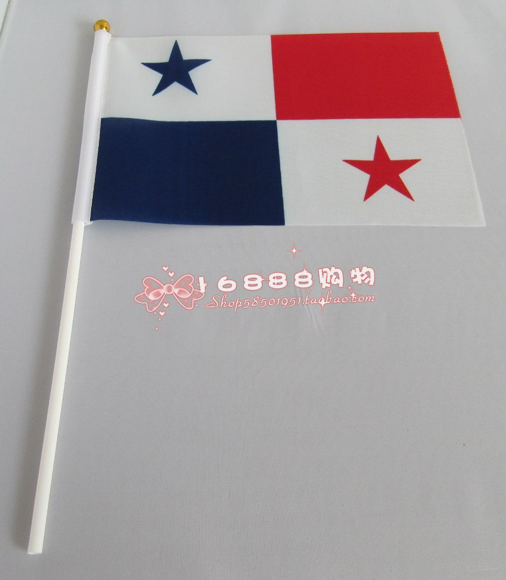 e8c22646aaa78b ᑎ‰Panama drapeau main agitent des drapeaux 14*21 CM décoratif ...