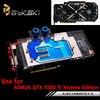 BYKSKI NIVDIA GIGABYTE AORUS GTX 1080Ti Xtreme Edition Full Cover Graphics Card Water Cooling GPU Block