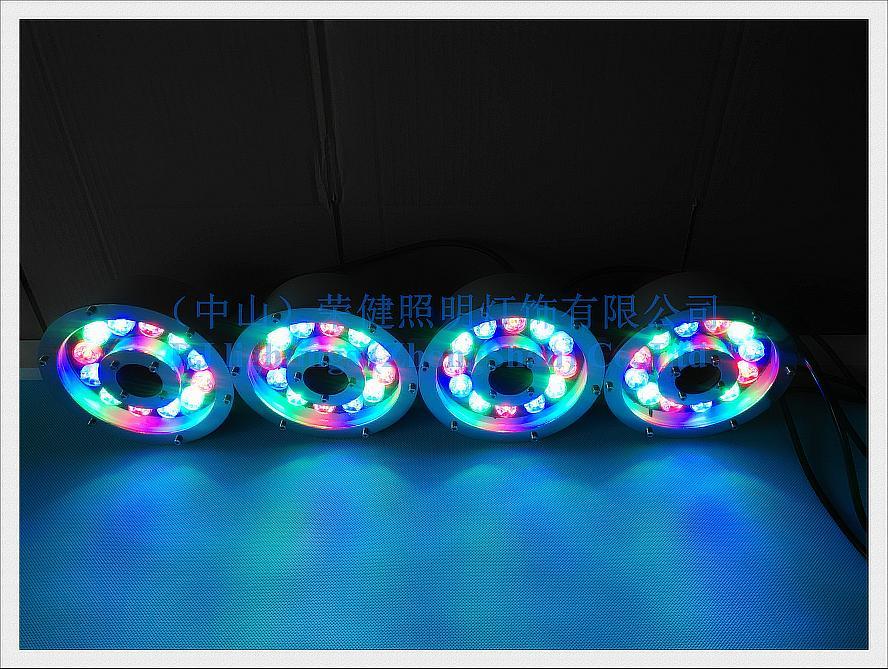 LED underwater light swimming pool light fountain light 2017 new style LED under water lamp 6W 9W 12W 18W IP68 12V/24V