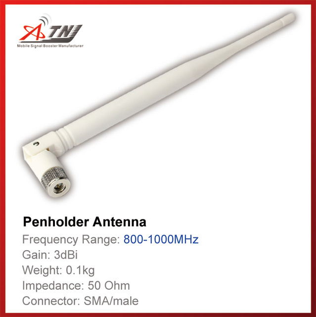 3dbi , ATNJ 800 1000mhz Indoor  Pen Holder Antenna for GSM 2G  3G  Signal Booster