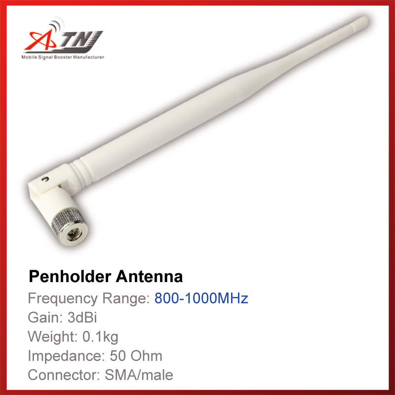 Top Quality+ High Gain 3dbi , ATNJ 800-1000mhz Indoor  Pen-Holder Antenna For GSM 2G  3G  Signal Booster