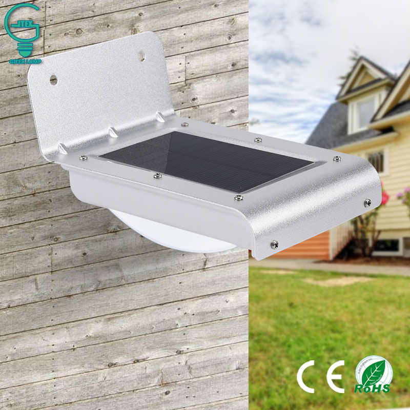 Solar Motion Light 16LED Outdoor PIR Sensor Solar Security Light Wireless Energy Saving Wall Lamp For Pathway Solar Lamp