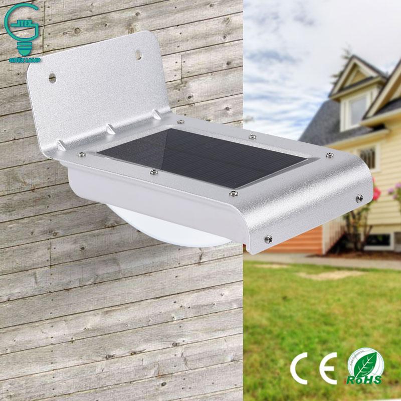 Solar Motion Light 16LED Outdoor PIR Sensor Solar Security Light Wireless Energy Saving Wall Lamp For Pathway Solar Lamp