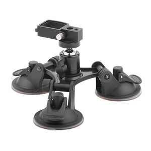 Image 3 - Suction Cup Car Mount for DJI OSMO Pocket/Pocket 2 Vehicle Window Holder with Expansion Module 1/4 Inch Interface Accessory