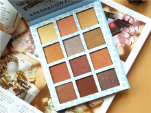 Brand 12 Color Makeup Eyeshadow Palette Glitter shimmer Pigment Smoky Meet Matte Nude Balm Professional Pallete