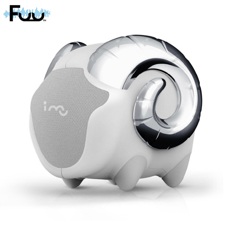 FUU I MU Ideas I Sheep Non Bluetooth Speaker Cute speaker for notebook PC computer portable mini speaker