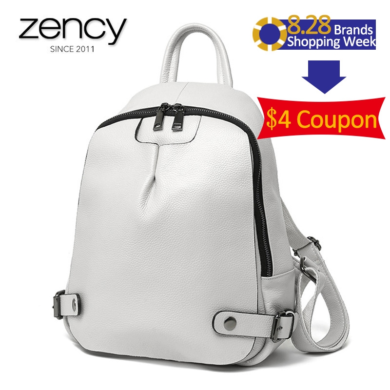 Genuine Leather Women s Fashion Backpack Girl s Summer Schoolbag Anti theft Bags for Female Ladies