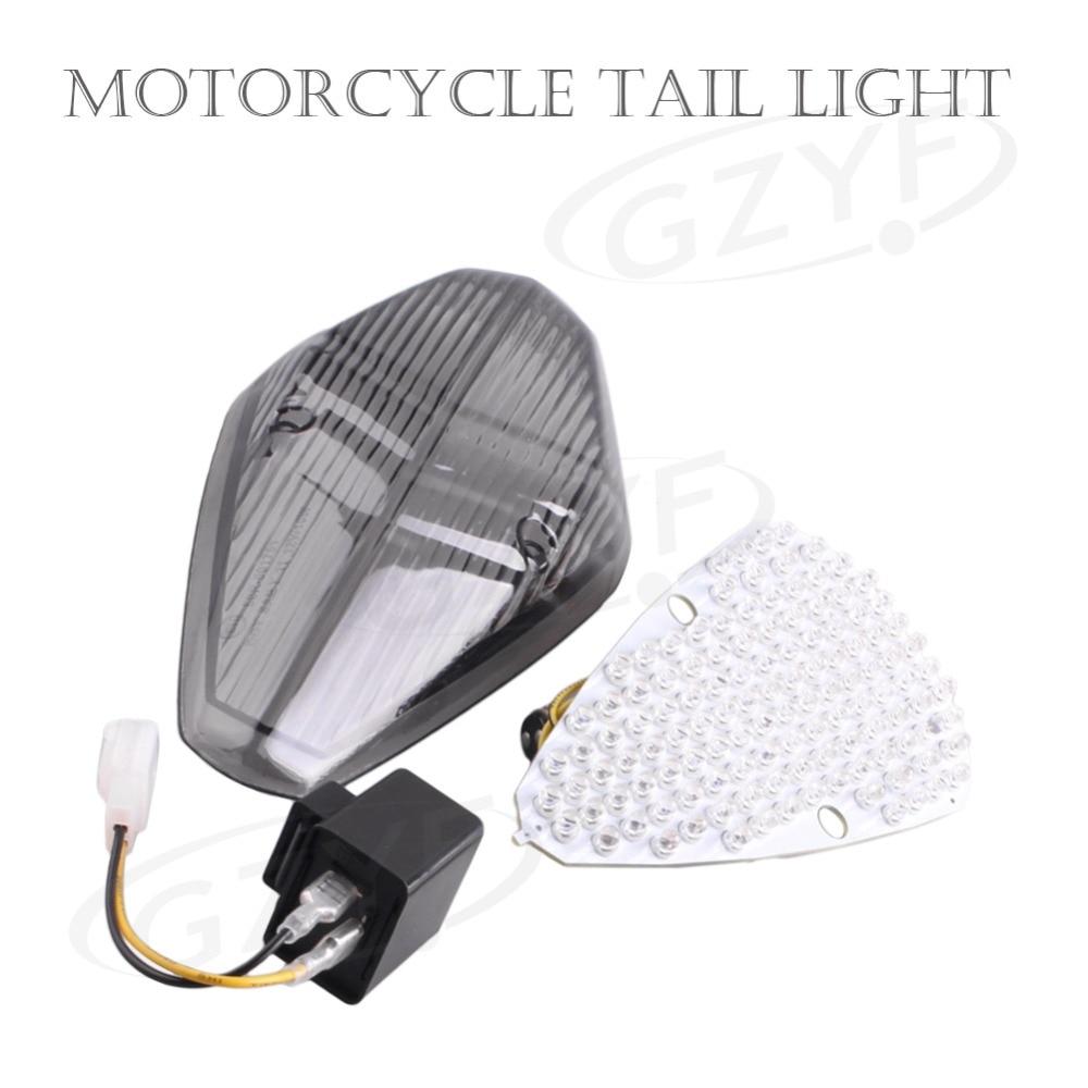 For HONDA VTX1300 REYRO VTX1800 1800T RETRO LED Rear Taillight Tail Brake Light Turning Signal Lamp Intergrated 2002-2008 E-Mark
