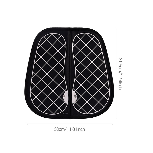 Unisex EMS Tens Acupuncture Foot Massager Muscle Stimulator Acupoint Mat Health Care Foot Massage Deep Kneading Shiatsu Therapy 4