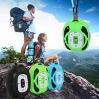 QIACHIP Solar Portátil Bluetooth Mini Altavoz de Múltiples funciones Al Aire Libre de La Bicicleta Bolsa de Bicicleta de Altavoces Altavoces Para El Teléfono Móvil