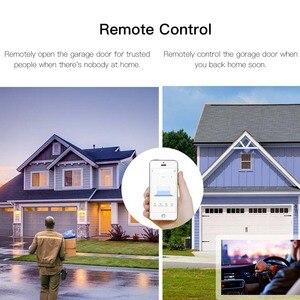 Image 4 - WiFi חכם מוסך דלת בקר פותחן חכם חיים/Tuya APP מרחוק תואם עם Alexa הד Google בית אין רכזת דורש