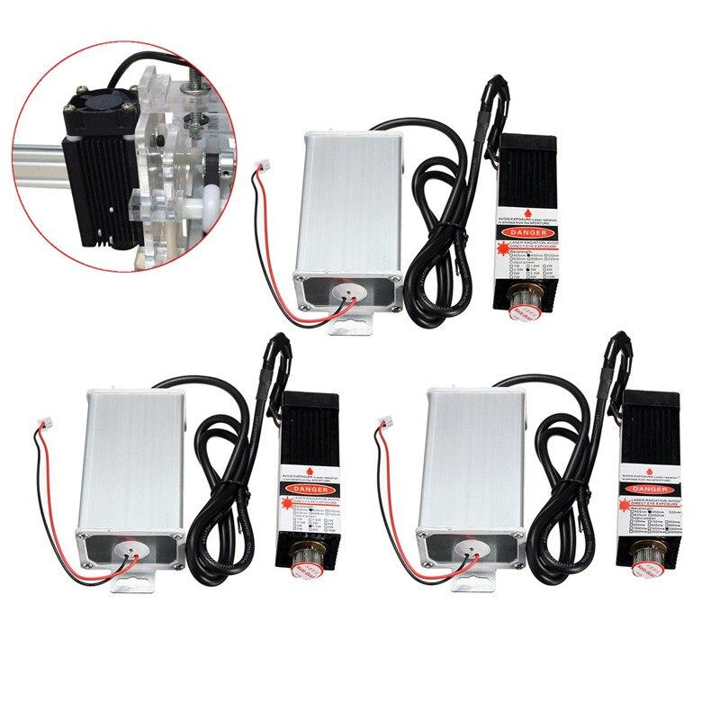 2 W/3 W/5,5 W 450nm DIY Mini Desktop Laser Kopf Gravur Maschine Modul High Power Für CNC Engraver Drucker/Cutter Maschine