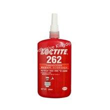 250 мл Loctite 262 нить шкафчик высокая прочность анаэробных резиновая Винт Красный